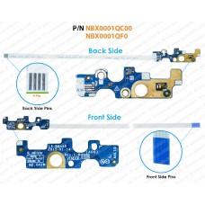 Power Button For Dell Inspiron 14-5455, 14-5458, 15-5000, 15-5555, 15-5558, 15-5559, 15-5551, 15-5758, 15-3558, 17-5758, 17-5755, 17-5759, Vostro 14-3458, 15-3558,  LS-B844P