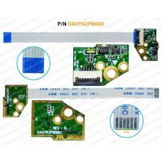 Power Button For HP Envy X360 15-U, 15T-U, Pavilion 13-A, 13-AC, DA0Y62PB6B0, 32Y62PB0000