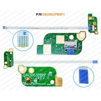 Power Button For HP Probook 450-G3, 470-G3, 455-G3, Series DA0X63PB6F1