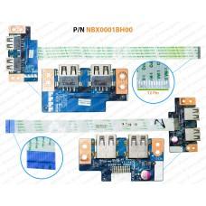 USB Board For Acer Aspire E1-572, E1-572P, E1-532, E1-510, E1-530, E1-570, GATEWAY NE570  LS-9532P