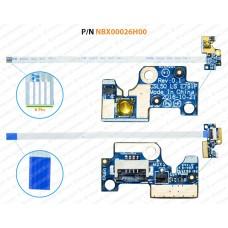 Power Button For HP 15T-BR, 15Z-BW, 15-BW, 15-BS, 250-G6, 255-G6, LS-E791P, CSL50