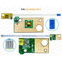 Power Button For Dell Inspiron 14-3461, 14-3462, 14-3465, 14-3467, 14-3468, 450.0AD02.0011