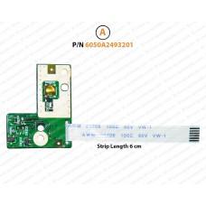 Power Button For HP Notebook 250-G1, 255-G1, 2000, 1000, 450, 455, 240, 245, Presario CQ45, 6050A2493201, 689686-001