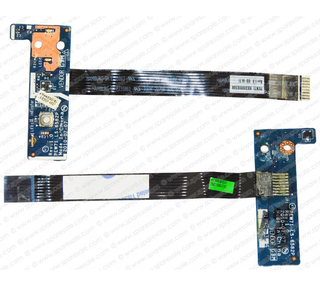 Power Button For Acer Aspire 5742, 5336, 5733, 5253, 5250, LS-6582P