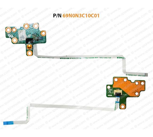 Power Button For Asus K56, S56, K550, S550, S56, K56C, K56CA, K56CB, K56CM 69N0N3C10C01