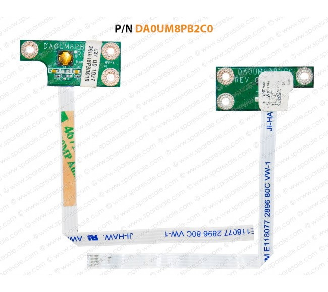 Power Button For Dell Inspiron 14R-N4010, N4010,