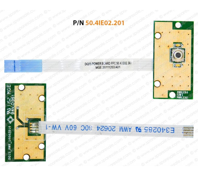 Power Button For Dell Inspiron 15R-M5110, 15R-N5110, M511R