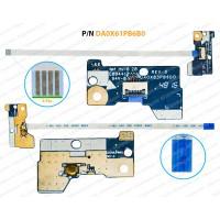 Power Button For HP ProBook 455-G4, 450-G4, 470-G4, DA0X83PB6D0, 905754-001