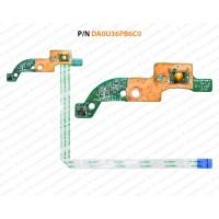 Power Button For HP Pavilion Sleekbook TouchSmart 15-B, 14-B, DA0U36PB6C0