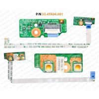 Power Button For Lenovo Ideapad B590, V580, 55.4YA04.001