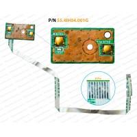 Power Button For Lenovo B570, B575, V570, Z570, 55.4IH04.001G