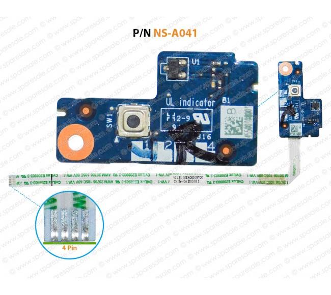 Power Button For Lenovo ThinkPad Edge 14inch E431 NS-A041
