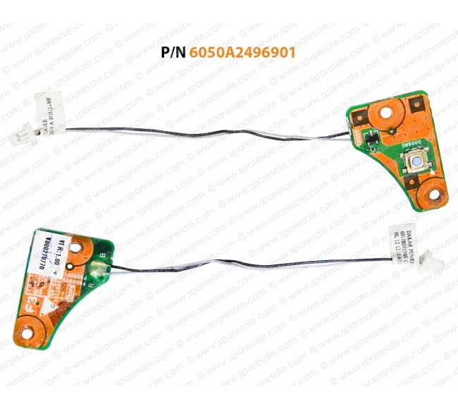 Power Button For Toshiba Satellite C855D-S5303, C855, C855D, C850D, C850, L850, L850D, L855, L855D, S855, S855D, L8500D