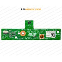 Power Button For Asus K54L, K54LY, X54C, X54H, K54HR, K54, X54 Series, 60-N7BSW1000-C01
