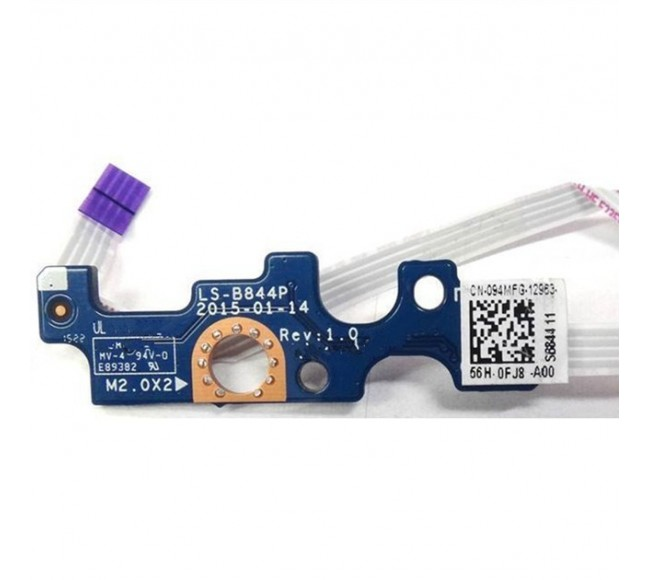 Dell Inspiron 5555 5558 5559 Vostro 3458, 5000 Series 5551 14-5455 14-5458 dell 3558 LS-B844P Power Button Board