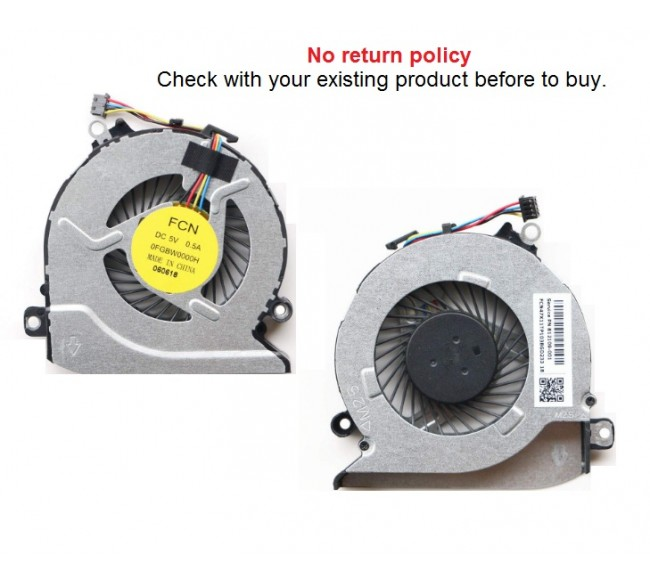 Fan For HP Pavilion 15-AB, 15-AN, 15T-AN, 15Z-A