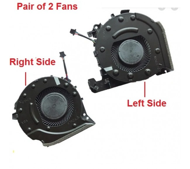 Fan For HP Pavilion 15-CX Left and Right Set