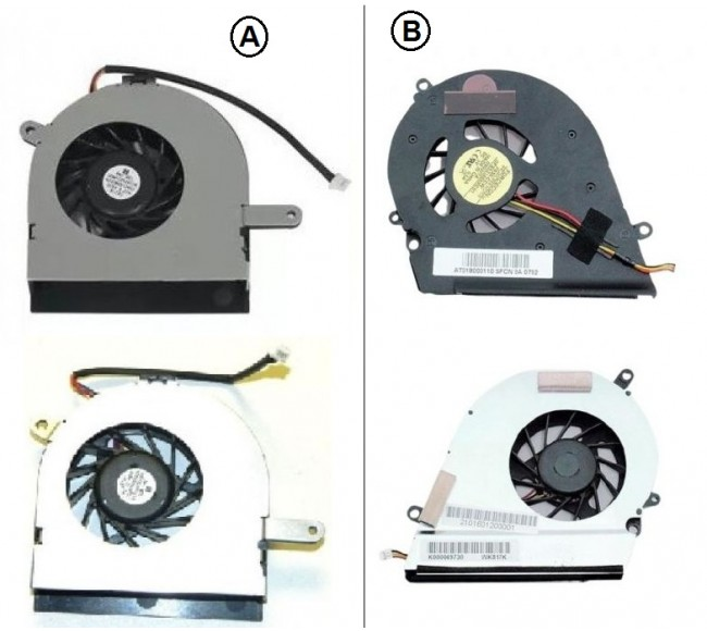Fan For Toshiba A200 A250