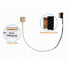 Display Cable For Toshiba S55-C, S55T-C, S50-C, S50T-C, L55D-C, L50-C, C55D, L55-C, C50-C, C55T-C, L50D-C, P55T-C,DD0BLQLC020 ( 30 Pin )