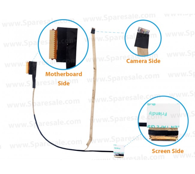 Display Cable for HP 440-G3, 445-G3, 745-G3,840-G3,DD0X62LC001