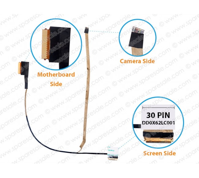 Display Cable for HP ProBook 440-G3, 445-G3, 745-G3, 840-G3