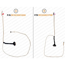 Display Cable For HP 15-DA, 15-DB, DC020031G00, DC020031F00