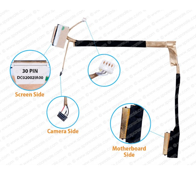 Display Cable For Dell inspiron 15-7560, 15-7572