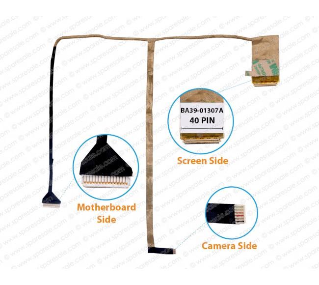 Display Cable for Samsung NP270E4E, NP270E4V, NP275E4V, NP300E4E, BA39-01307A