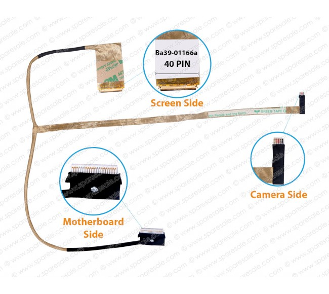 Display Cable for Samsung NP300E7A, NP300E7Z, NP305E7A, BA39-01166A