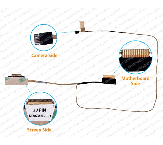 Display Cable For Acer Aspire A315-21, A315-31, A315-51, A315-52