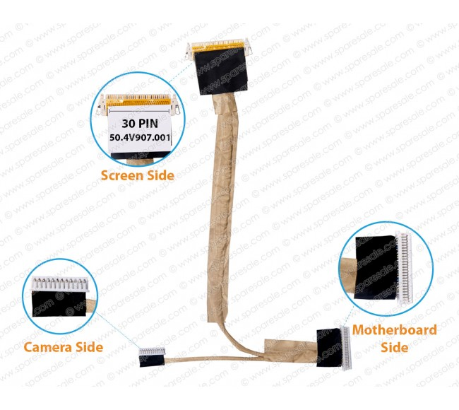 Display Cable for HP Elitebook 6930P, 6940, 6930