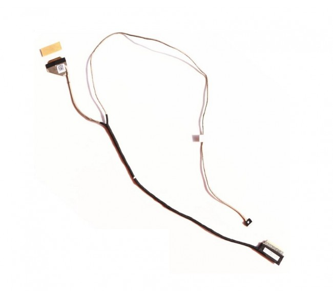 Display Cable For Dell Inspiron 14-5000, 14-5442, 14-5447, 14-5448, DC020021X00 Non-Touch Screen Cable ( 30-Pin ) LCD LED LVDS Flex Video Screen Cable
