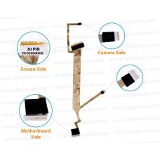 Display Cable For HP Compaq CQ40, CQ45, CQ41, DV4-1200, DC02000IS00, 486735-001, 496290-001