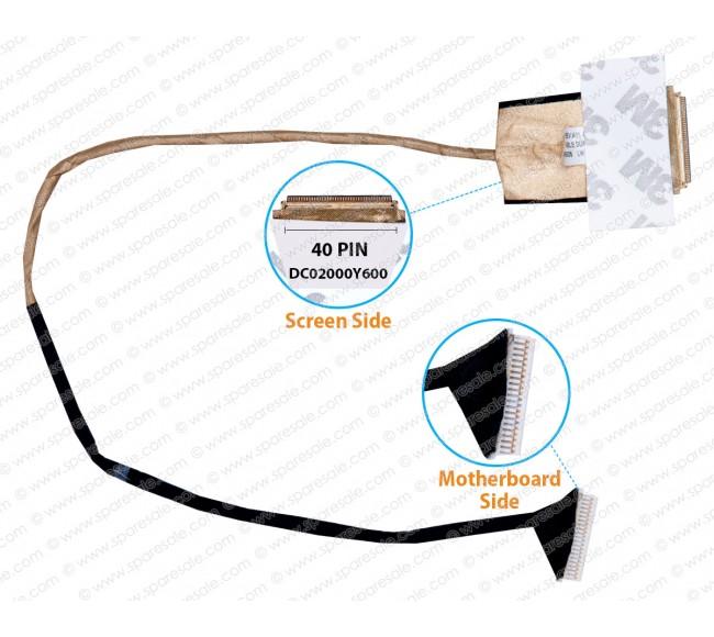Display Cable For HP Probook 6540B 6445B 6550B 6555B 6440B 6460 6075B