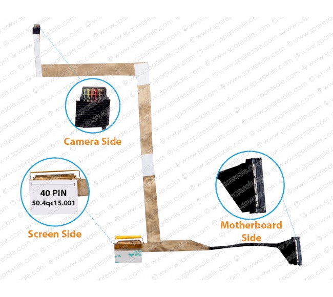 Display Cable For HPPavilion dm4-3000 50.4qc15.001