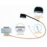 Display Cable For HP PAVILION DV6-1000, DV6-2000, DD0UP8LC006