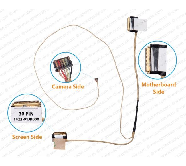 Display Cable For Asus X550 EDP 1422-01JK000 30Pin