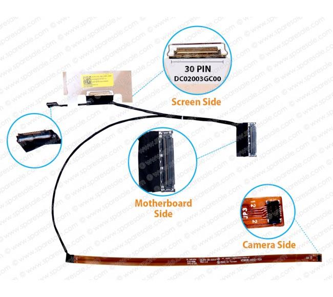 Display Cable For Lenovo Yoga 730-13IKB, 730-13ISK