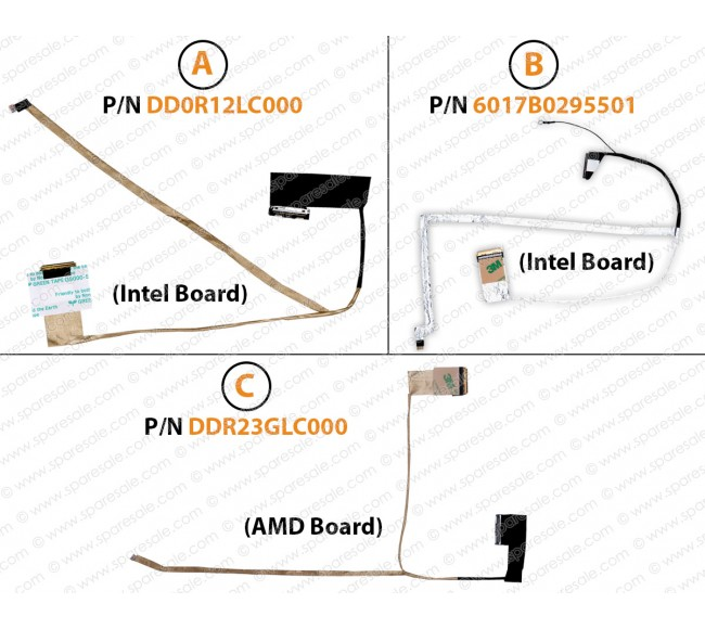 Display Cable ForHP Pavilion G4-1000, G6-1000