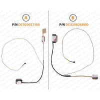Display Cable ForHP 15-AC, 15-AY, 15-AF, 250-G4, 255-G4, 250-G5, DC020027J00, DC020026M00