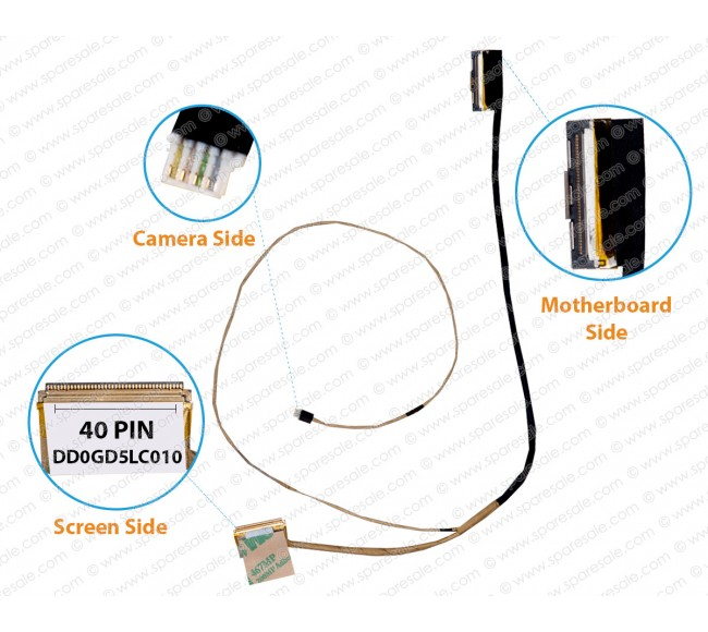 Display Cable For Sony Vaio SVF14A Series DD0GD5LC010