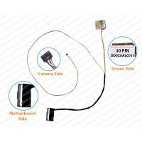 Display Cable For ACER Aspire E5-523, E5-523G, E5-553, E5-533G, E5-533, F5-573, E5-575, E5-575G, F5-573G ( 30 Pin )  Non Touch Screen Cable