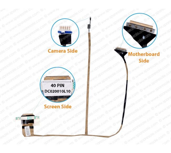 Display Cable For Acer Aspire 5253 5336 5741 5742 5551G 5252 5552 5250 5251 5350 5736Z GATEWAY NV59C NV53 NV50 DC020010L10