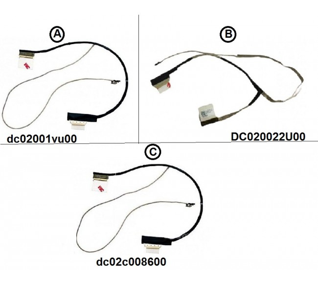 Display Cable For HP pavilion 15-G 15-R 15-H 15-S 250-G3