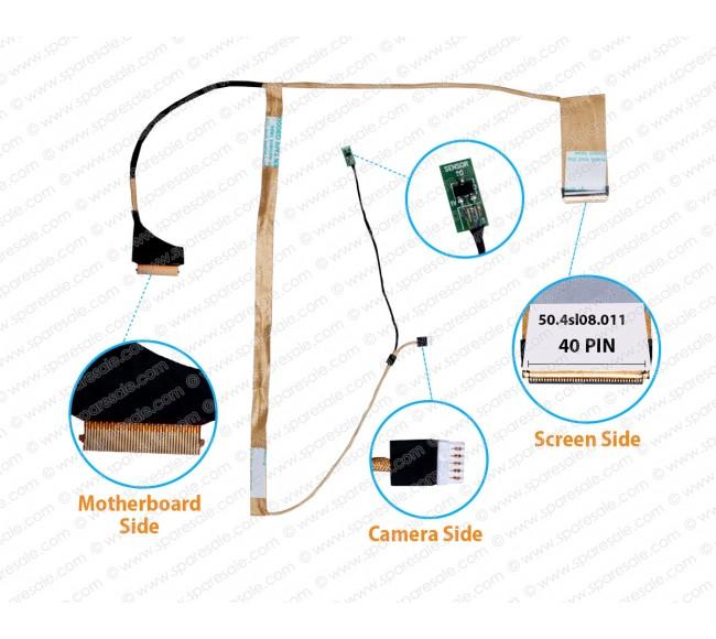 Display Cable For lenovo E4430 E4430A 50.4sl08.011