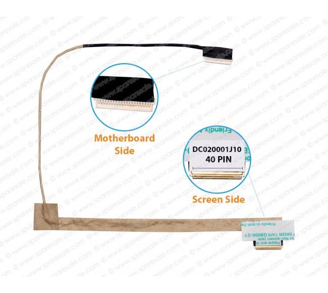 Display Cable For Lenovo Ideapad Y550 Y550p Y550A Y550G DC020001J10
