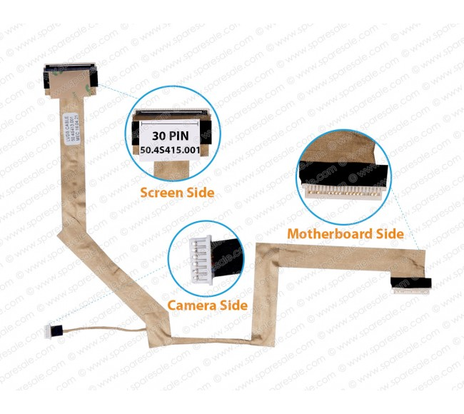 Display Cable For HP V3000 dv2000 50.4S415.001