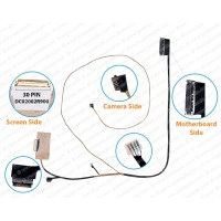 Display Cable For Lenovo IDEAPAD FLEX 5-1470 80XA yoga 520-14IKB DC02002R900