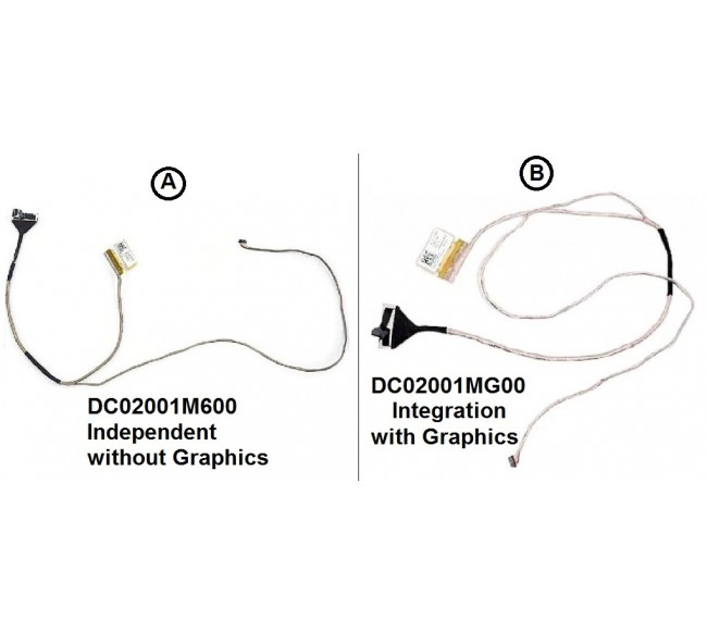 Display Cable For Lenovo Ideapad G40-45 G40-30 G40-75 Z40-70 Z40-45 v1000 v2000