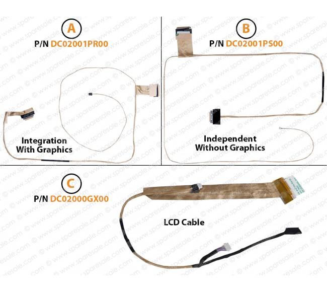 Display Cable For LENOVO G500, G505, G510, C510A, C510M, C510G, C510L, C510